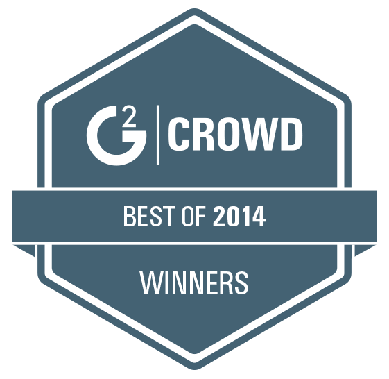 g2 crowd best of 2014 winners