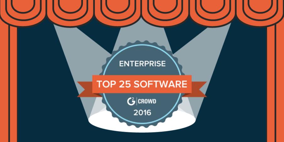 top enterprise software 2016