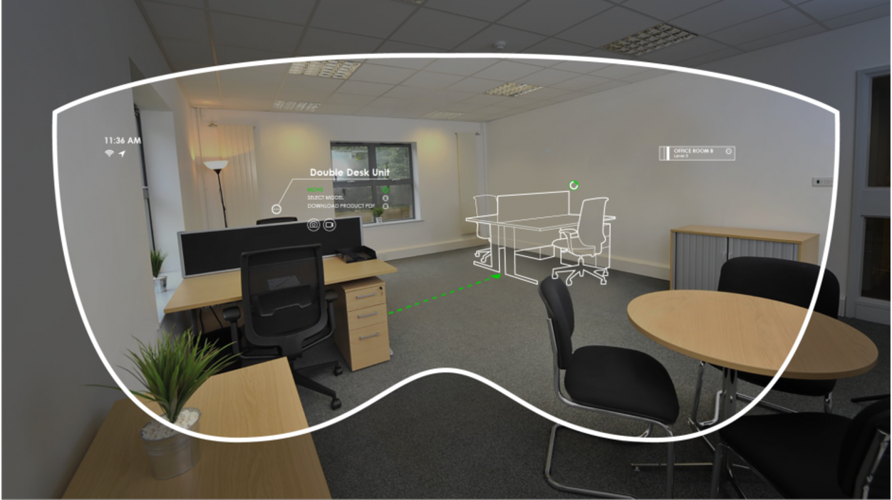 virtual office tools. According To Soluis, \u201cThe Augmented Worker System Will Provide The Construction Industry With And Virtual Reality Improve Office Tools