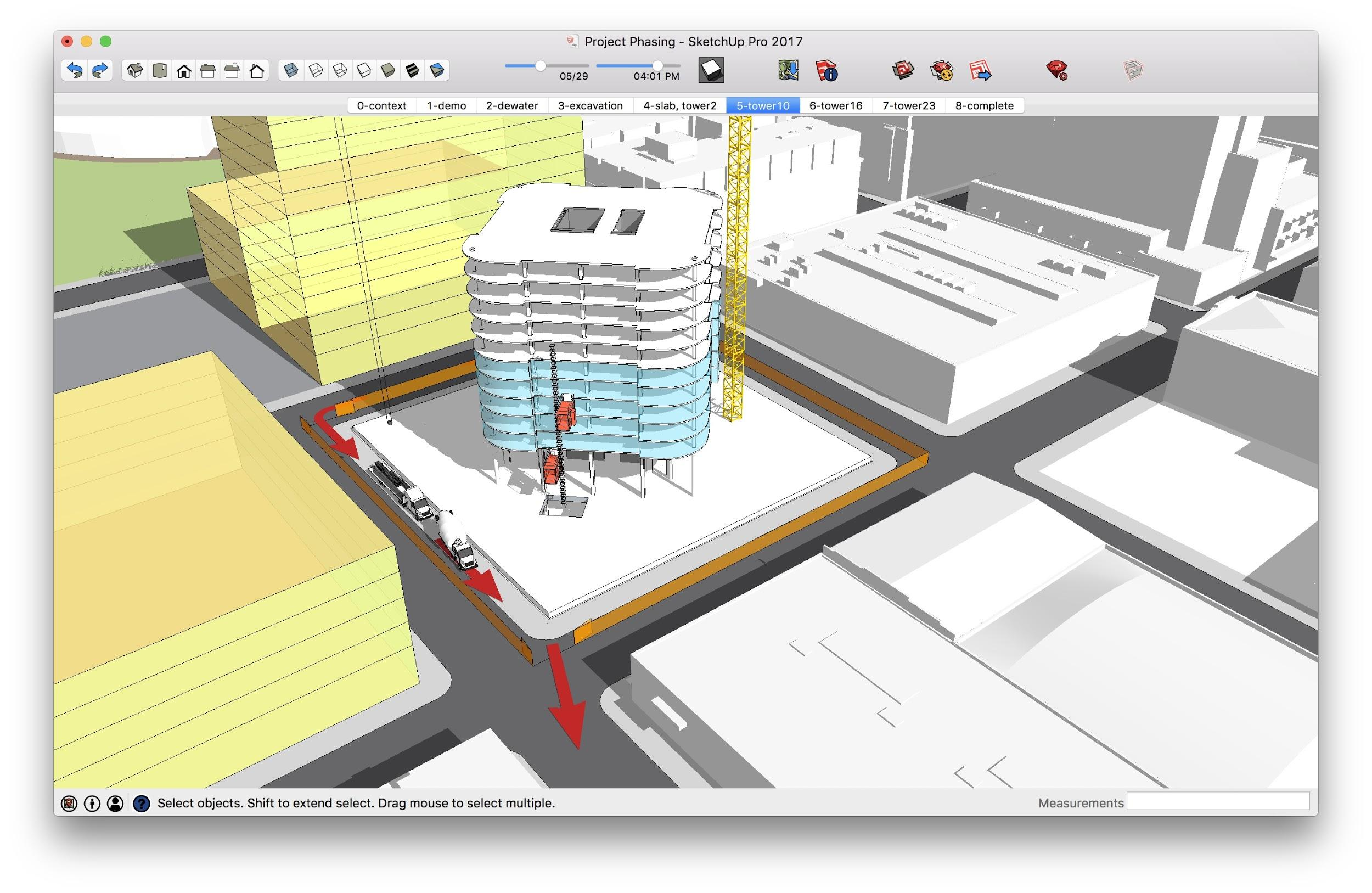 SketchUp Project Planning Construction Technology