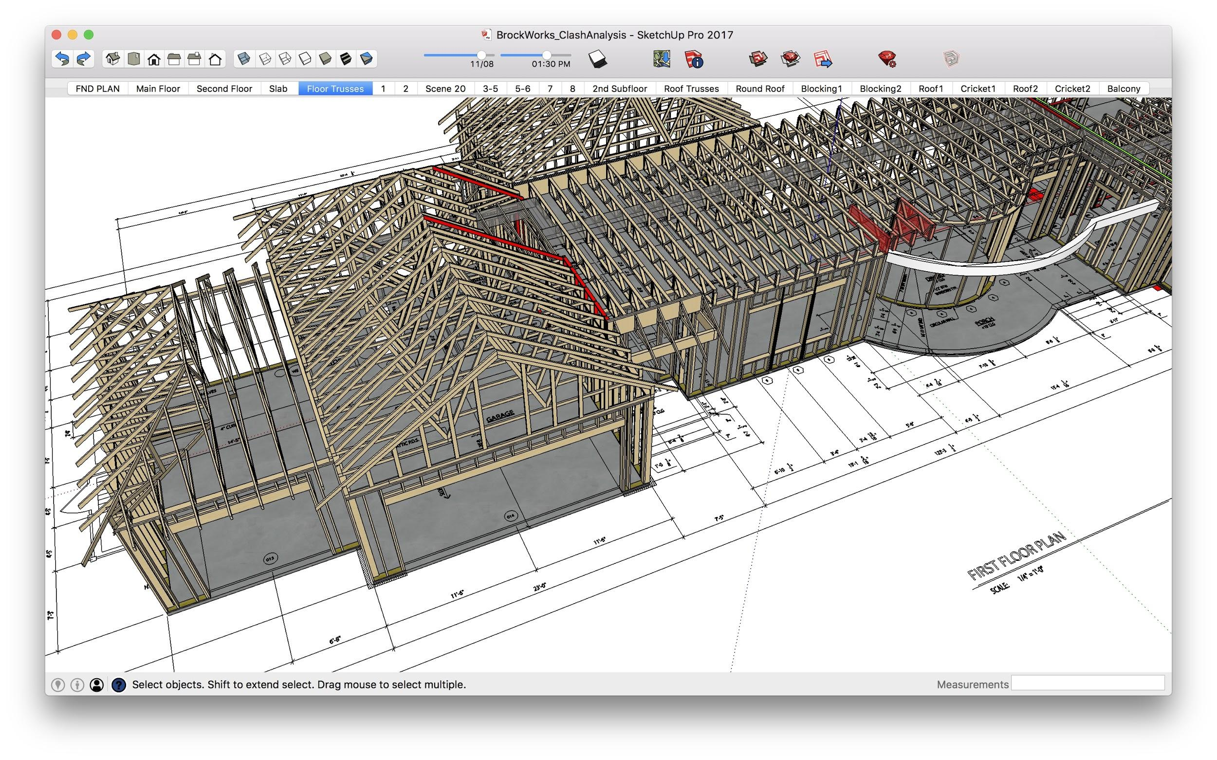 SketchUp Project Construction Technology