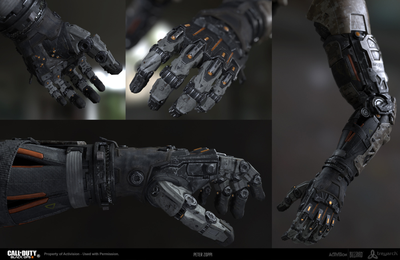 Maya concept art tools Call of Duty Black Ops 3