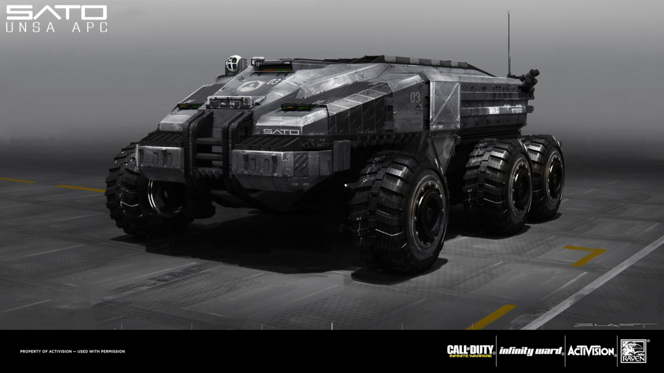 Modo concept art tools Call of Duty Infinite Warfare