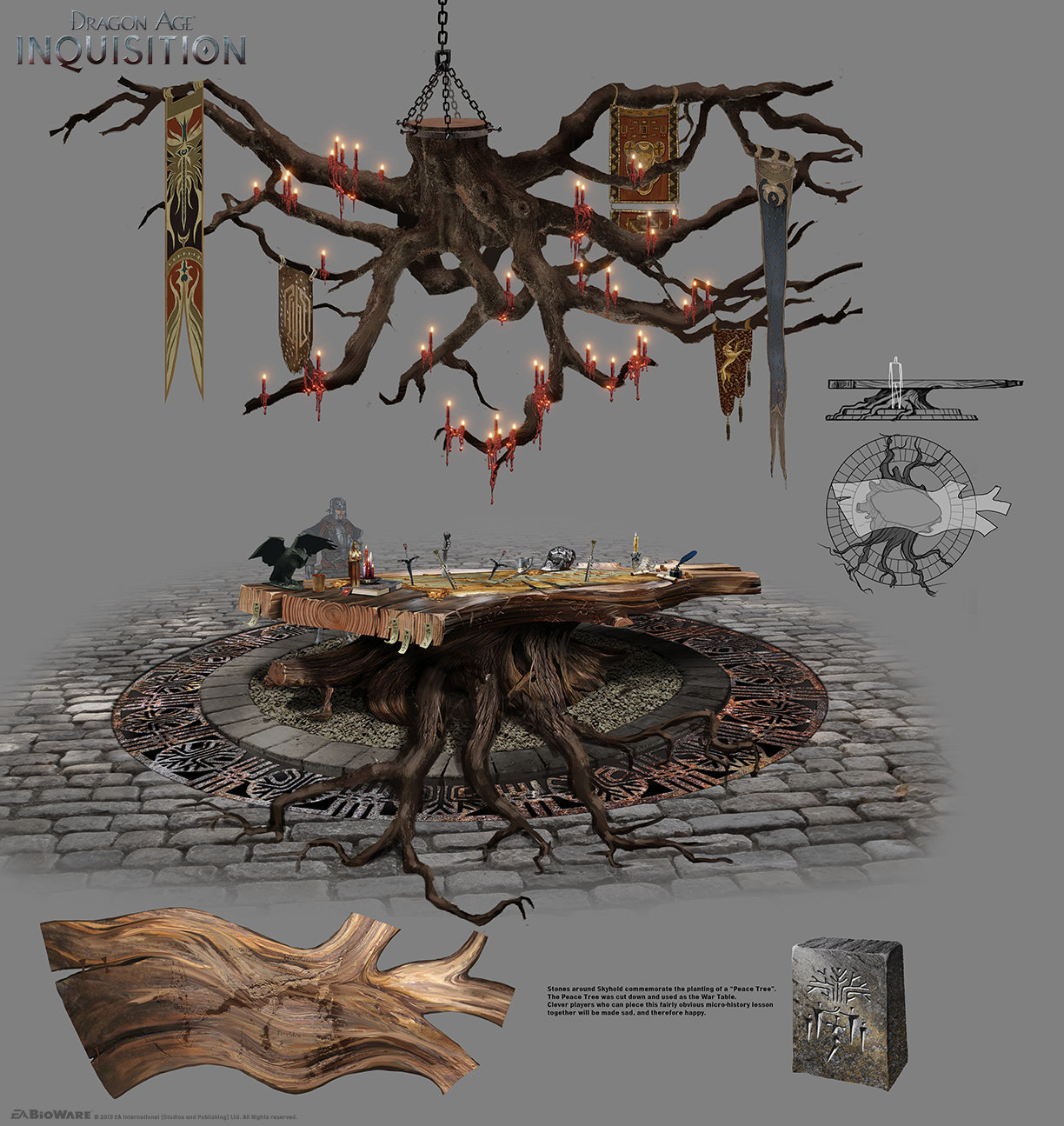Photoshop concept art tools Dragon Age Inquisition
