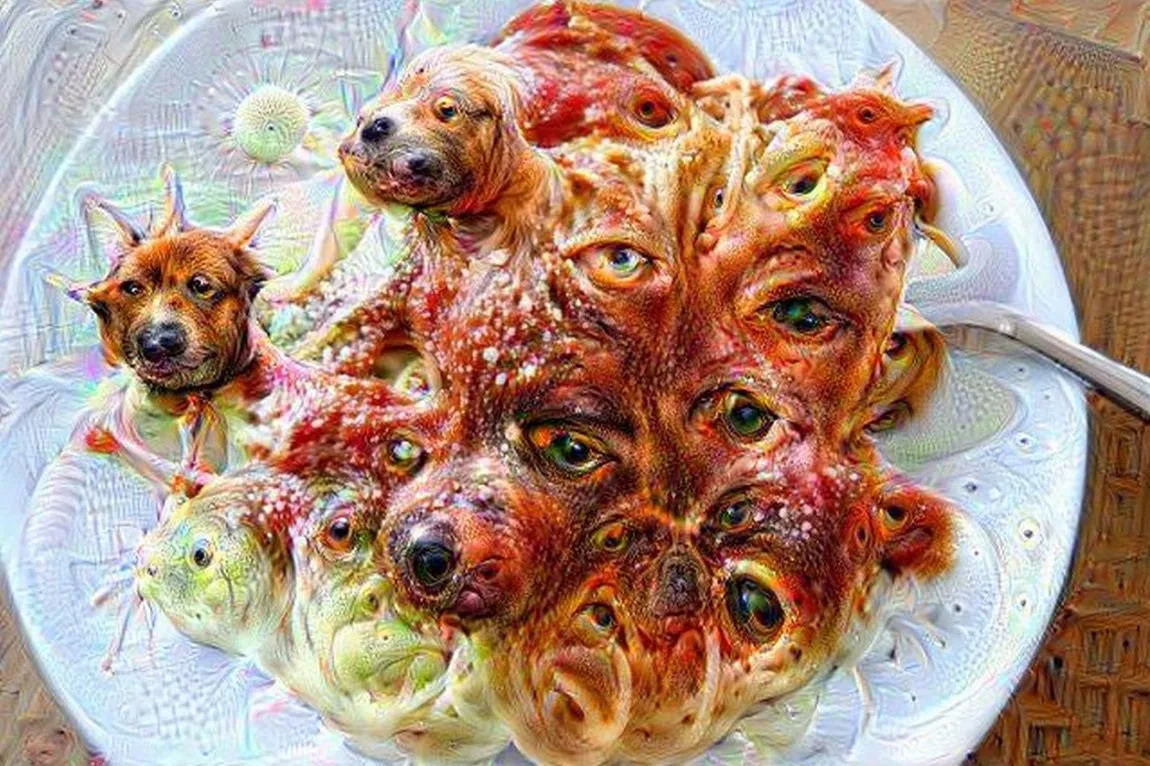 Deep dream how does machine learning work