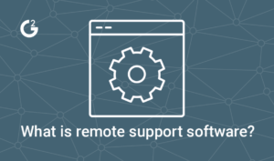 what is remote support software