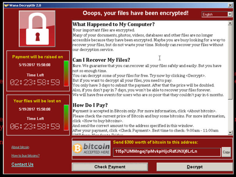 wannacry attack what is ransomware