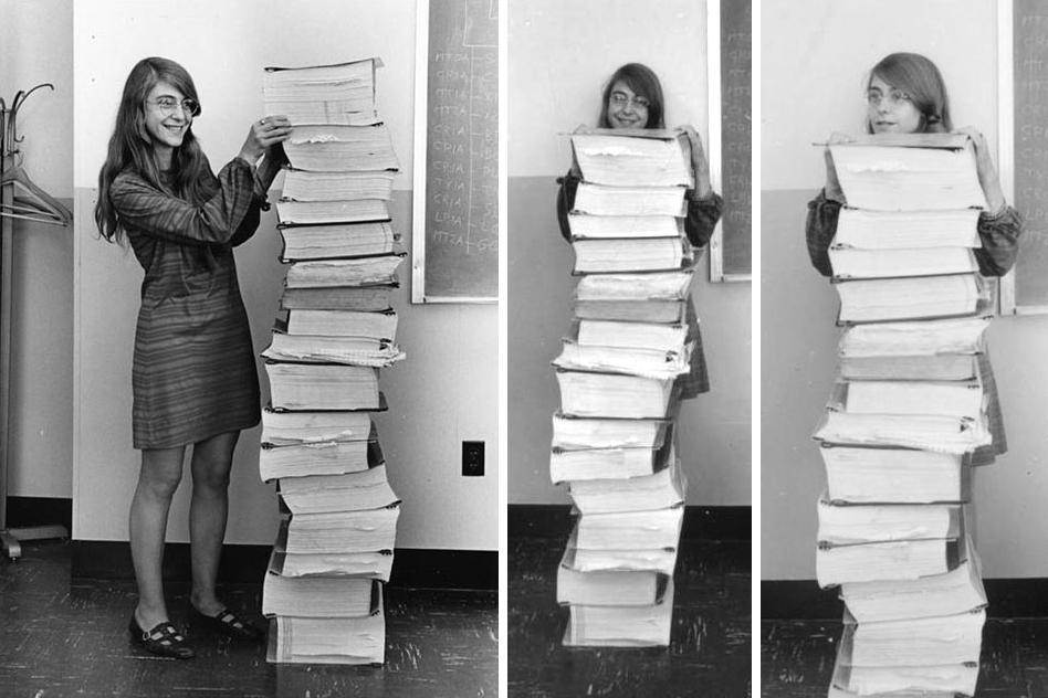 Margaret Hamilton women in tech trends